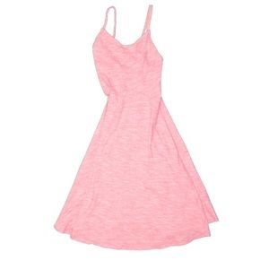 Old Navy Casual Coral Cotton Sun Dress A line smal